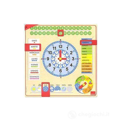 Calendario Spagnolo.Orologio Calendario Spagnolo 51305