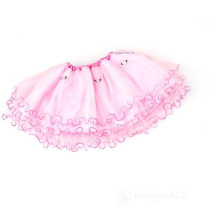 Gonna in tulle principessa rosa (BS 1656)