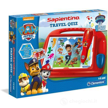 Sapientino Travel Quiz Paw Patrol (13306)