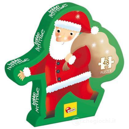Descrizione Di Babbo Natale Per Bambini.Puzzle Confezione Sagoma Di Babbo Natale 43071 Puzzle Per