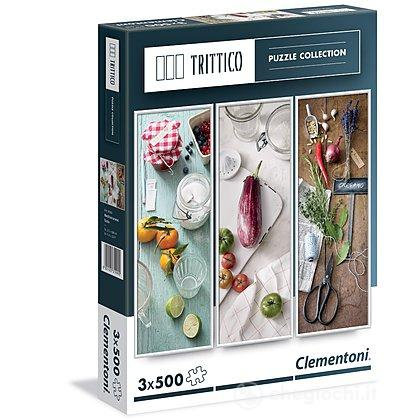 Mediterranean taste Trittico 3 x 500 pezzi (39308)