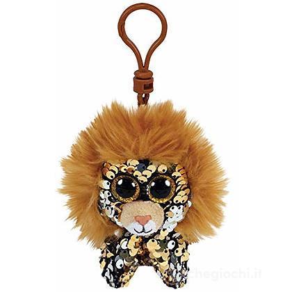 Peluche portachiavi leone Regal Glitter