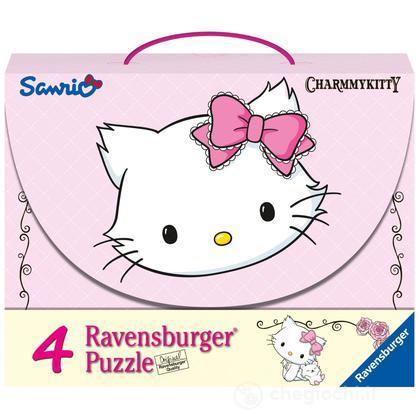 Valigetta 4 Puzzle Charmy Kitty (7311)