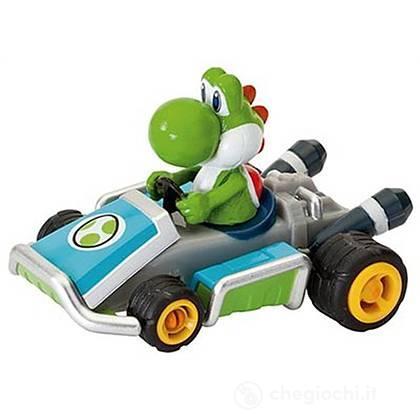 Veicolo retrocarica Mario Kart 7 Yoshi