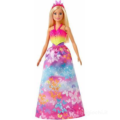 Barbie Dreamtopia con Parti Intercambiabili Principessa Fata Sirena(GJK40)