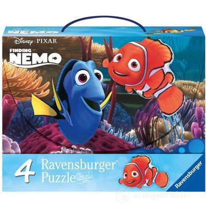 Valigetta 4 Puzzle Nemo (7315)