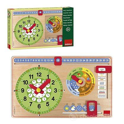 Calendario Spagnolo.Orologio Calendario Spagnolo Piccolo 51315