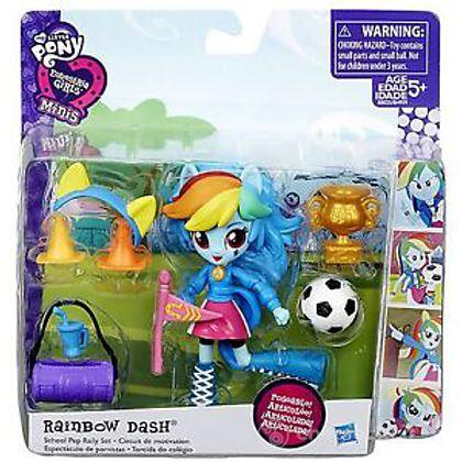 Equestria Girls Rainbow Dash + Accessori