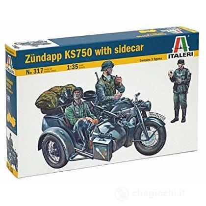 Modo Sidecar Zundapp KS750 (317)