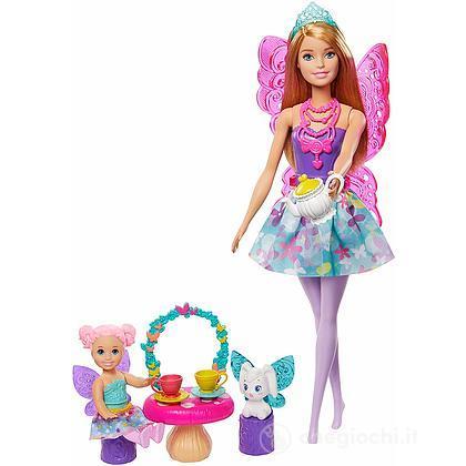 Barbie- Dreamtopia Playset Festa All'ora del tè(GJK50)