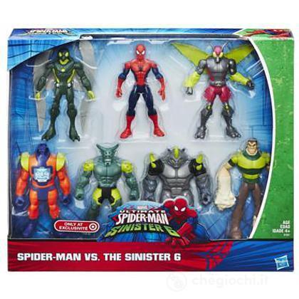 Spider-Man sinister 7 pack (B7201EU4)