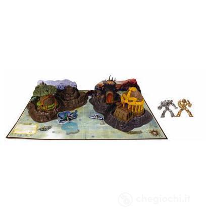Isola di Gorm con due personaggi oro