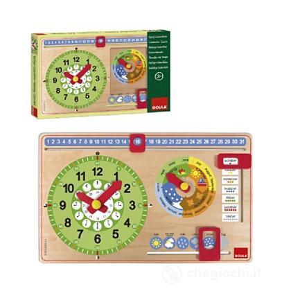 Orologio Calendario Italiano piccolo (51320)