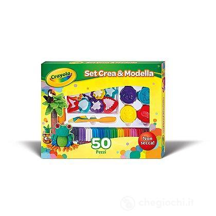 Set Crea & Modella 50 pezzi (57-0321)