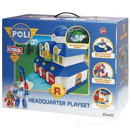 Robocar Poli Playset Quartier Generale (83156)