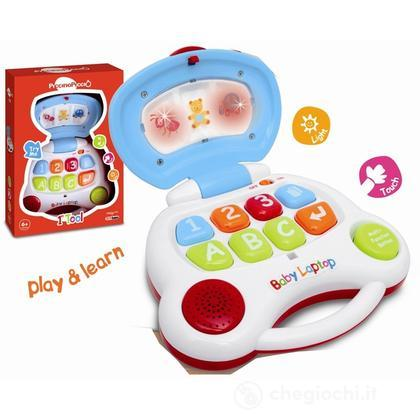 Baby Lap Top luci e suoni (BML03310)