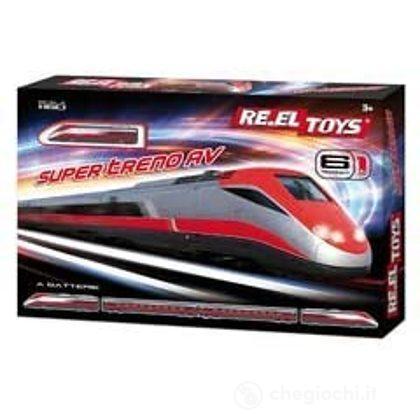 Treno Super Av 6 Tracciati Batteria (323)