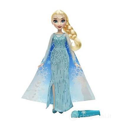 Frozen Mantello cambia colore Elsa