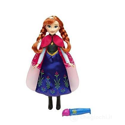 Frozen Mantello cambia colore Anna