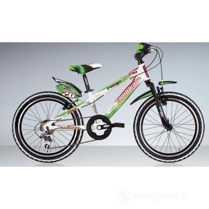"""Bici 20"""" Fuego White-red"""