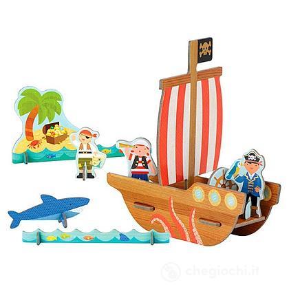 Pirati In Cartone 3D (Pe37841)