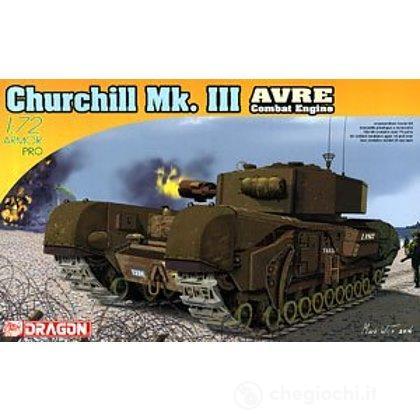 Carro Armato CHURCHILL MK III AVRE 1/72 (DR7327)