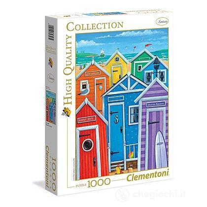 1000 pezzi Rainbow Beach Huts (39327)