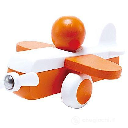 Aereo a elica arancione (E0065)