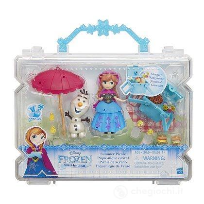 Frozen Small Doll Anna PicNic set