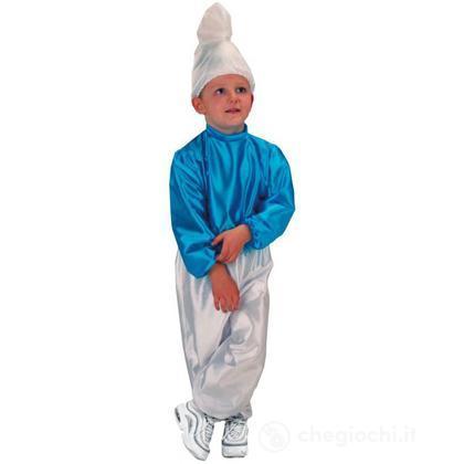 Costume Blue Smart puffo Taglia IV (63330)