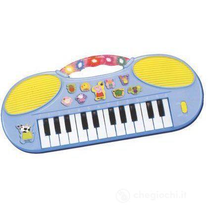 Pianola Peppa Pig luci e suoni
