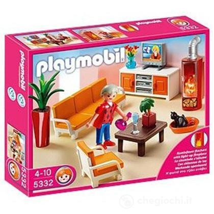 Salone accogliente playmobil 5332 prima infanzia - Playmobil wohnzimmer 5332 ...