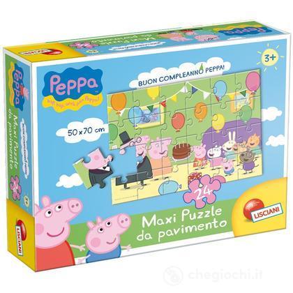 Puzzle Da Pavimento 24 Buon Complenno Peppa! (43330)