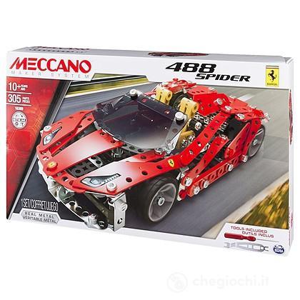 Meccano Auto Sportiva - Ferrari 488 Spider (91837)