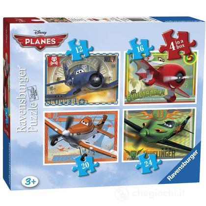 Planes 4 puzzle in 1