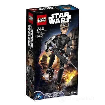 Action Figure Sergente Jyn Erso - Lego Star Wars (75119)