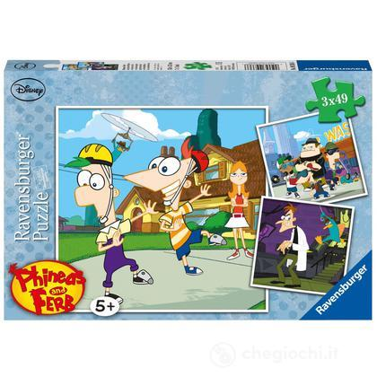Phineas and Ferb on a Secret Mission (9336)