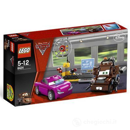 LEGO Cars - Carl Attrezzi - versione Spia (8424)