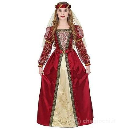 Costume Principessa Medievale 5-7 anni