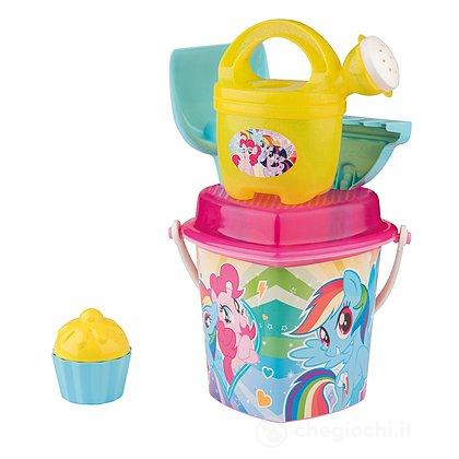 Set secchiello Little Pony a cuore cm. 17 (107114106)