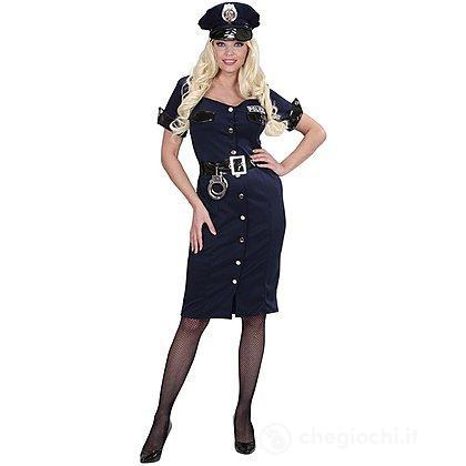 Costume Adulto poliziotta S