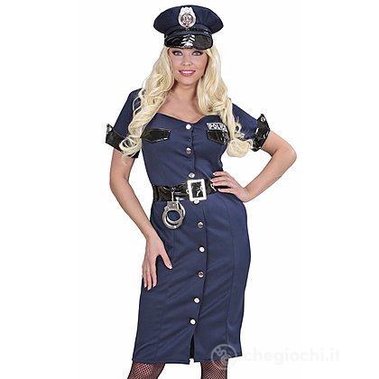 Costume Adulto poliziotta M