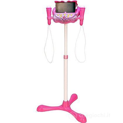 Consolle Palco con 2 Microfoni rosa (40 3171)