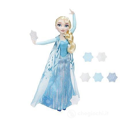 Frozen Elsa Lancia Cristalli Di Ghiaccio (B9204E)