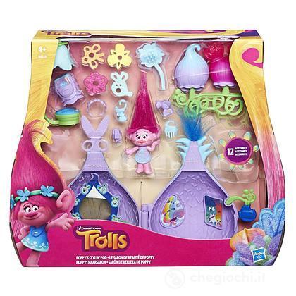 Trolls - Playset Salone Di Bellezza Con Poppy (B6559EU4)