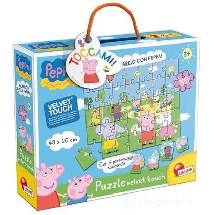Puzzle Velvet Touch Al Parco Con Peppa! (43439)