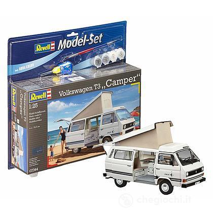 Camper Model Set Volkswagen T3 1/24 (RV67344)