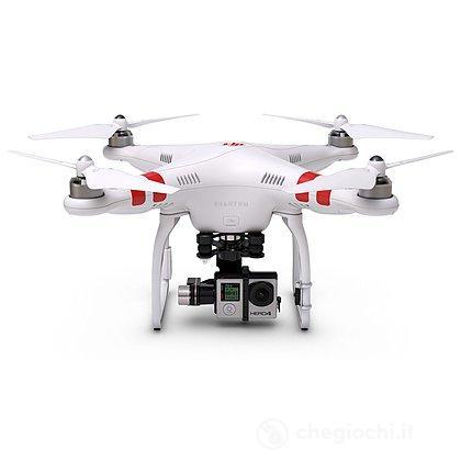 Drone Phantom 2 con fotocamera  H4-3D Edition