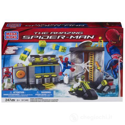 Playset Agguato dell'uomo lucertola - Spider-Man (91348)