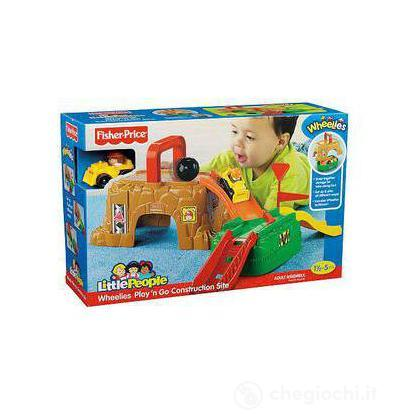 Mini cantiere Wheelies Little people (V2749)